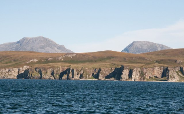 View of Islay's northern coast from the sea