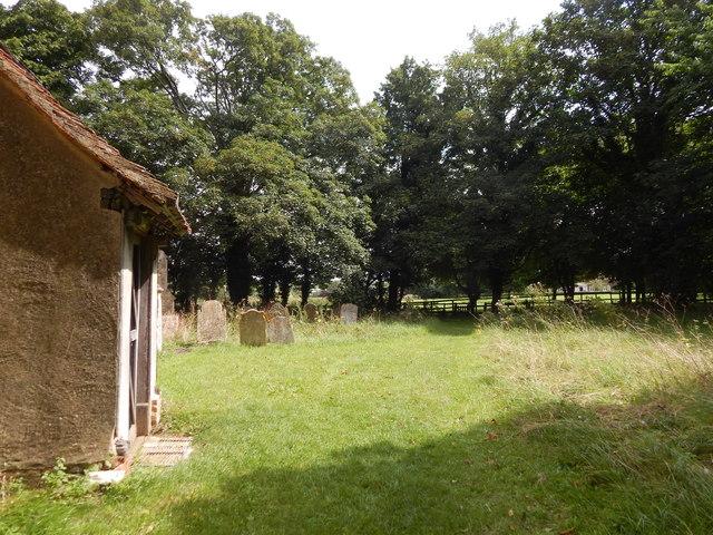 Chickney church porch (side)