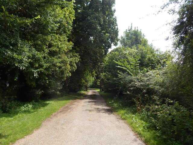 Driveway to New Chickney Hall