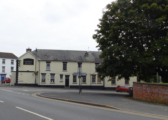The George Hotel on Boston Road, Spilsby