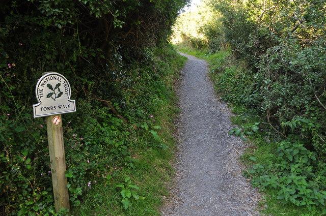 Ilfracombe : South West Coast Path - Torrs Walk