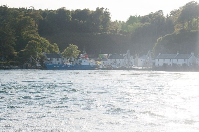 Port Askaig with the Jura ferry