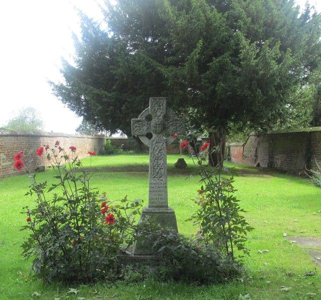 Memorial garden, Church End #1
