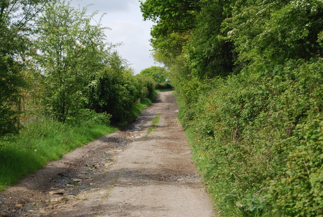 Track from Greenacres Farm