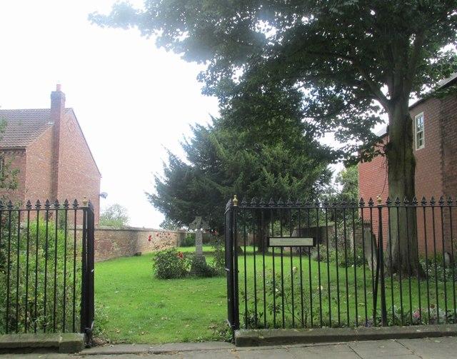 Memorial garden, Church End #2
