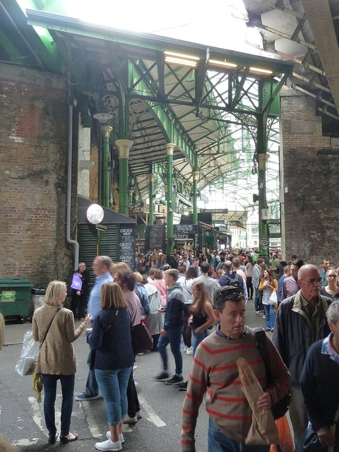 Borough Market at Bedale Street