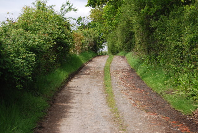Track from Greenacres Farm