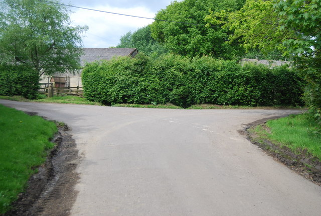 Burnthouse Lane, Prings Lane junction