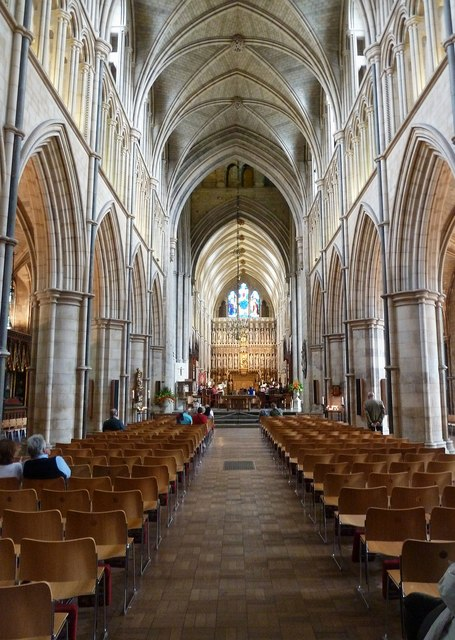 Southwark Cathedral nave