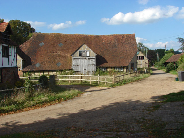 Barn, Great Tangley Manor Farm