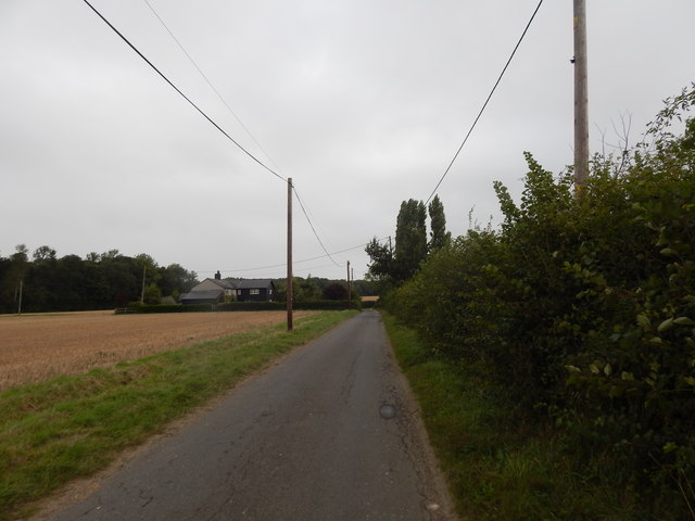 Looking towards junction