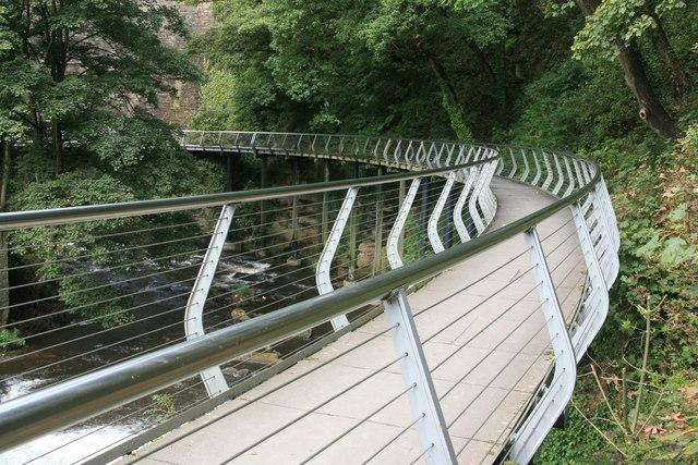 The Torrs  Millennium Walkway