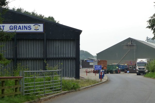 A busy time at North East Grains