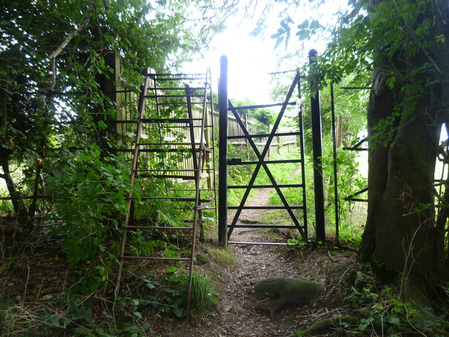 Following a footpath the hard way or the easy way