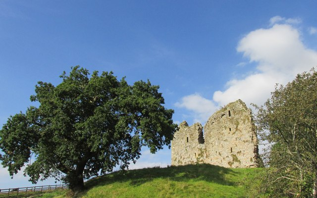 Thirlwall castle.