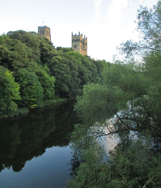Durham: view from Framwellgate Bridge
