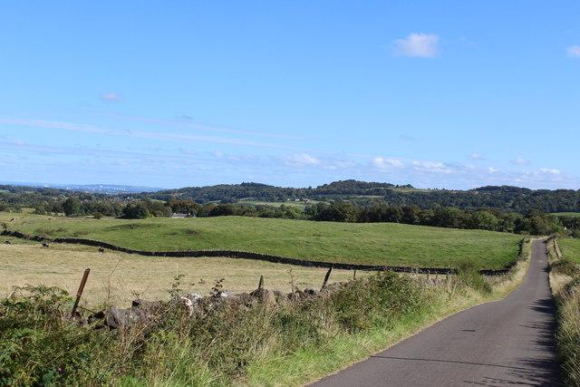 Minor road near South Newton
