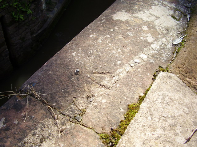 Benchmark on Gregory Mill Lock