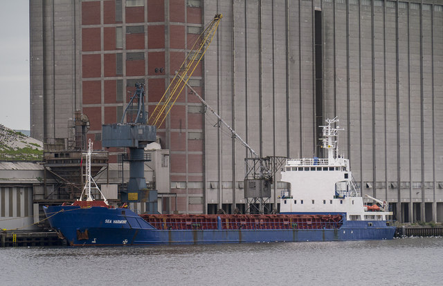 The 'Sea Harmony' at Belfast