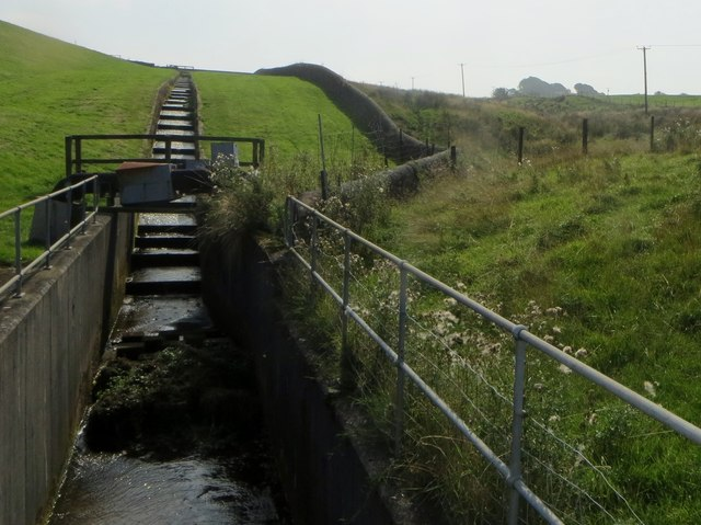Outflow at Parsonage Reservoir