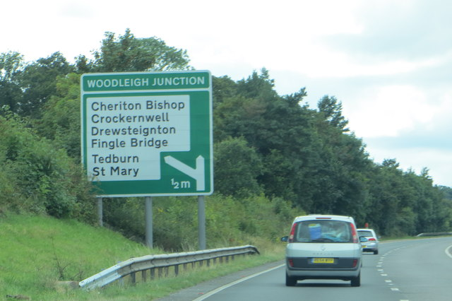 West on the A30