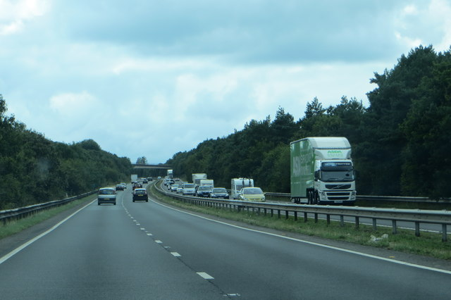Traffic on the A3