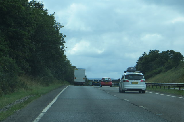 The A3 heading west