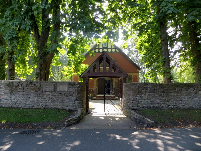Lychgate, English Martyrs Church, Whalley
