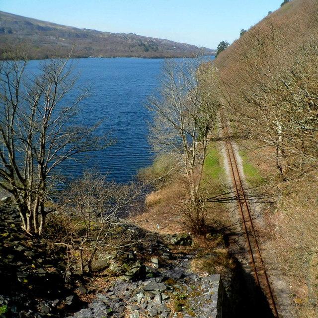 Lakeside railway, Llyn Padarn