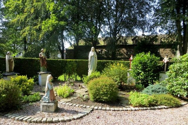 Church garden in Whalley