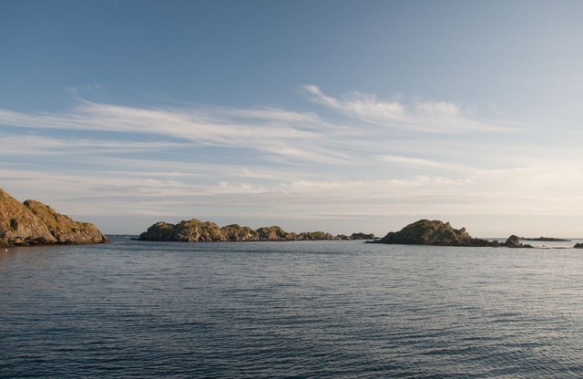 Islets off the south-eastern coast of Islay