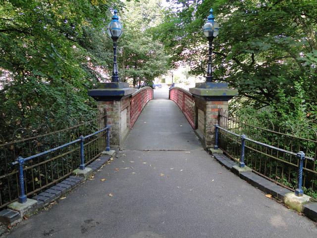 The Jubilee Bridge in Belle View Park
