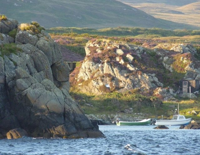 The Ard and harbour, Islay