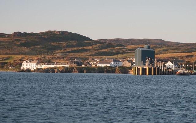 Approaching Port Ellen, Islay