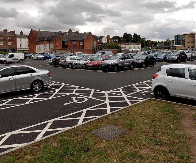 Burton Street car park, Melton Mowbray