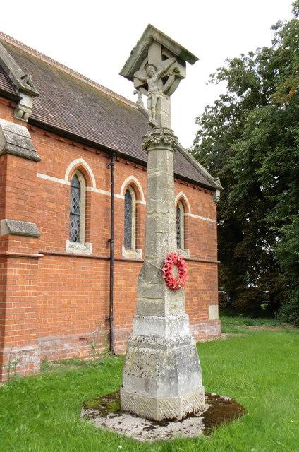 War Memorial at Great Steeping