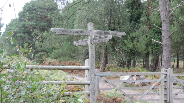 Finger Post in Avon Valley Country Park