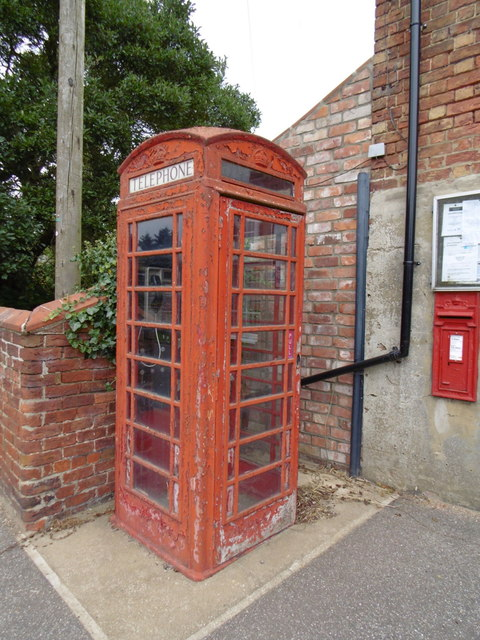 Telephone Box, Great Steeping