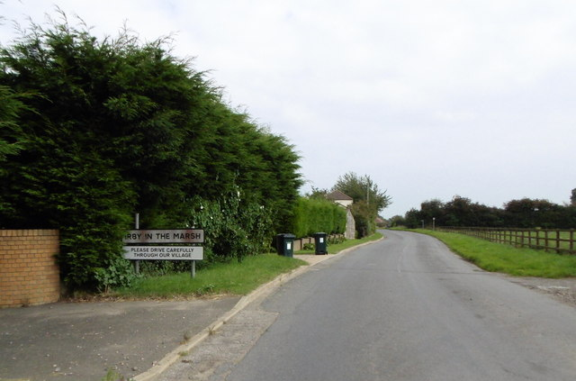 Wainfleet Road, Irby in the Marsh