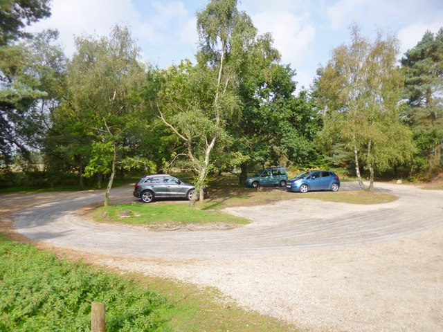 Avon Heath Country Park, car park