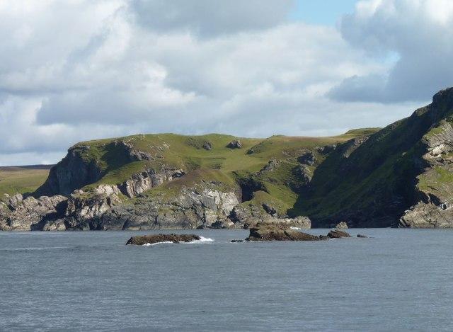 Small islets off the Oa, Islay