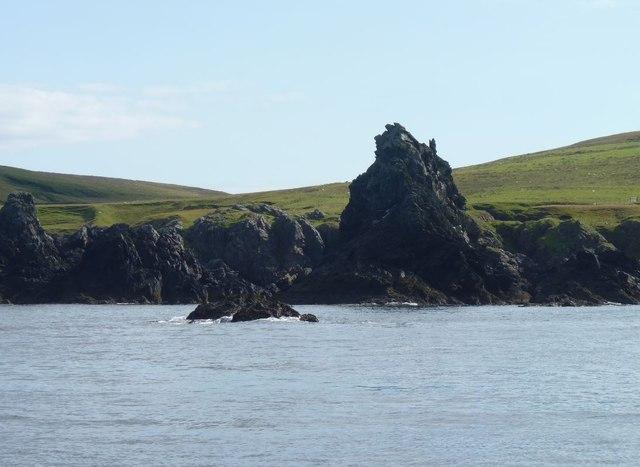 Rocky islets near Rubha Dubh, Islay