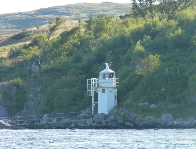 Lighthouse at Carraig Mhòr, Islay