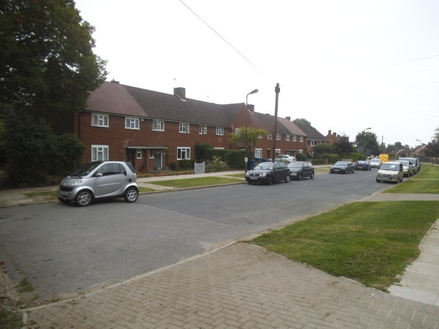 Houses on Masefield Avenue, Stanmore