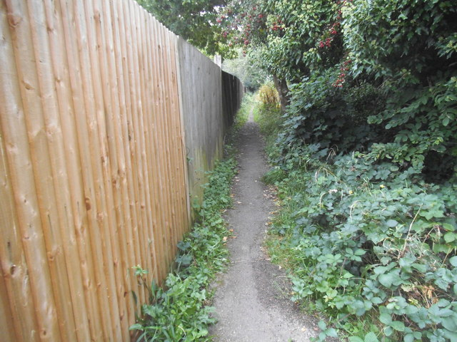Path from Masefield Avenue to Embry Way