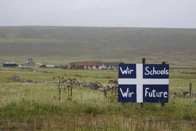 Wir schools, wir future, Baltasound