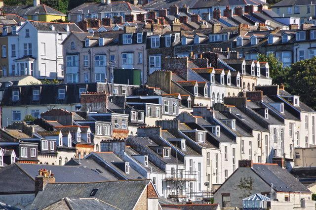 Ilfracombe : Roofs & Houses