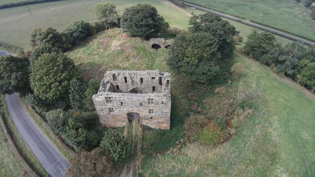 Whorlton Castle near Swainby