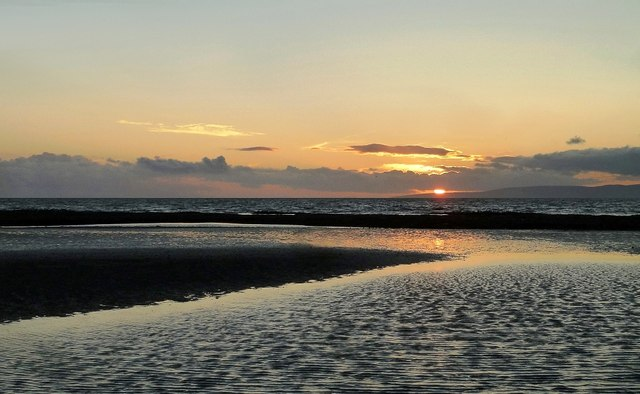 Croyburnfoot Sunset