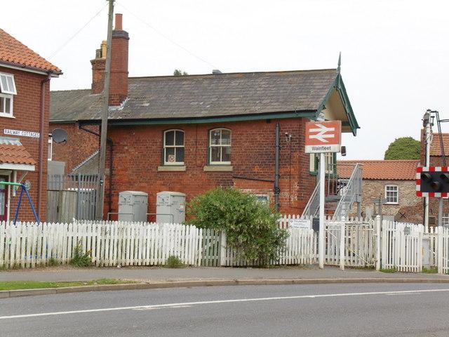 Signalbox at Wainfleet All Saints